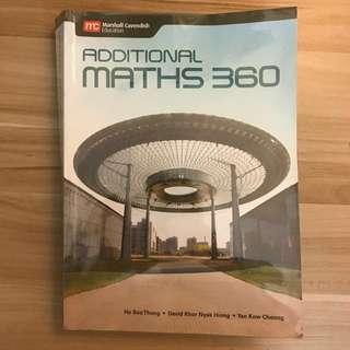 Additional Math 360 Textbook