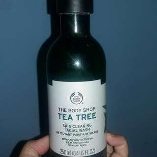 Preloved The Body Shop Tea Tree Facial Wash