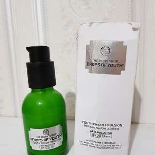 Body Shop Drop of Youth Emulsion spf 20