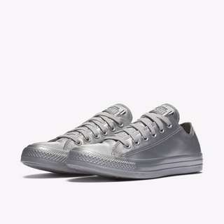 Metallic Rubber Converse Sneakers