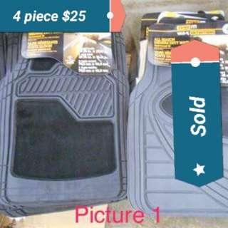 Heavy duty mats