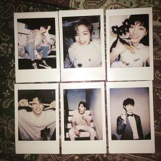 BATCH 6 wanna one polaroid