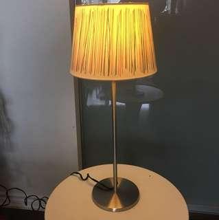 IKEA silver lamppost