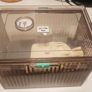防潮箱 水玻璃 250g 束口式棉套 非 收藏家
