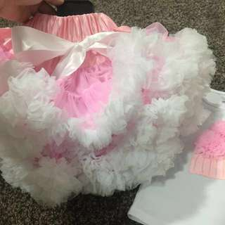 Double Layer Fluffy Tutu