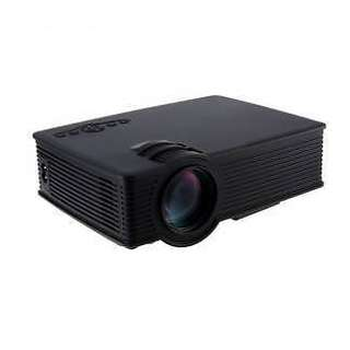 GP-9 Portable LCD Projector 800 Lumens Support 1080P Home Theater