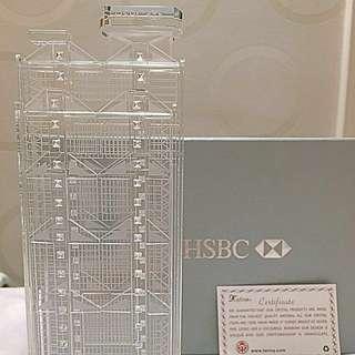 💥「限量版」1985 HSBC Building 水晶擺件 L size
