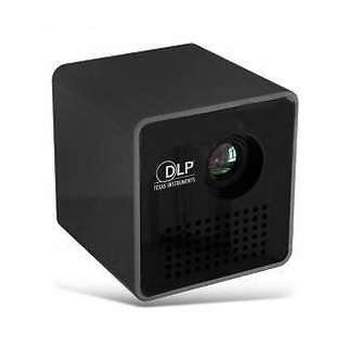 P1+ DLP LED Projector Mini WiFi Projector 1080P Support
