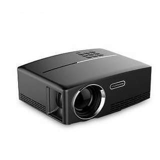 GP80 1800 Lumen HD Mini Portable Projector with Speaker