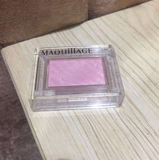Maquillage by Shiseido Pink Shimmer eyeshadow