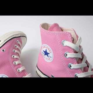 Converse1970三星標粉色高筒