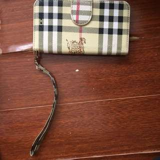 iPhone 6/6s Burberry wallet case