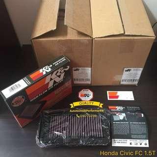 Honda Civic FC 1.5 Turbo Original K&N Air Filter