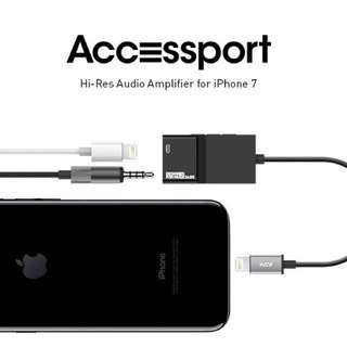 AAW ACCESSPORT AUDIO AMPLIFIER FOR IPHONE + CHARGING