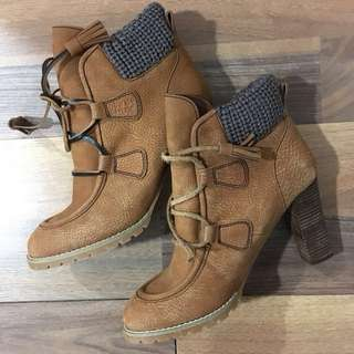 See by Chloé suede booties