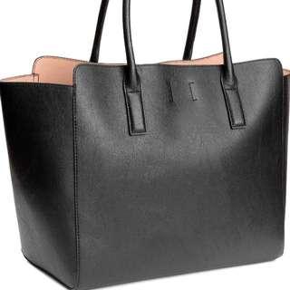 Black H&M bag