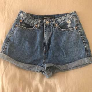 Glassons Denim Shorts sz 6