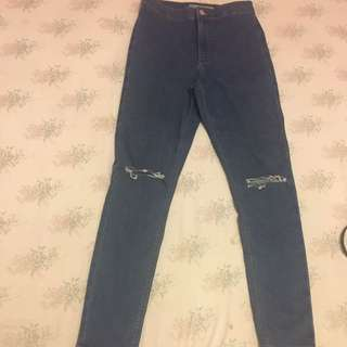 Size 28 Topshop Joni Jeans