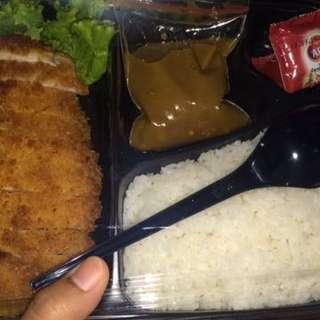 Ayam Katsu Kari Pedas