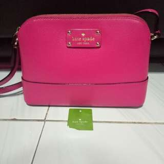Preloved Kate Spade Hanna Fuchsia 100% Original
