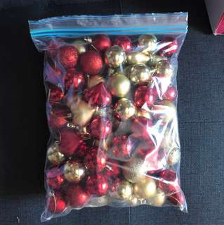 Christmas-bulk bag of small tree decorations