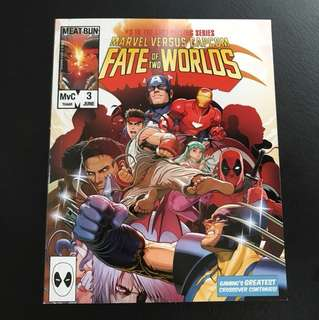 Marvel vs capcom fate of two worlds comic book