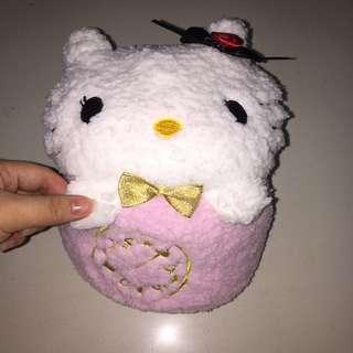 Hello Kitty Plush + Blanket