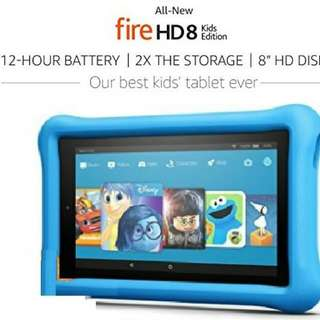 (12/17) Amazon Kindle Fire 7 N HD 8 Kids Edition
