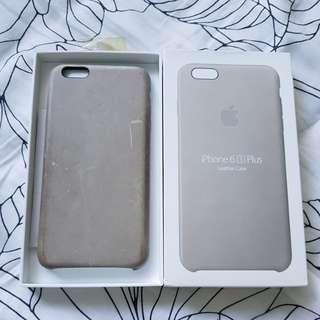 Iphone 6/6s plus leather case