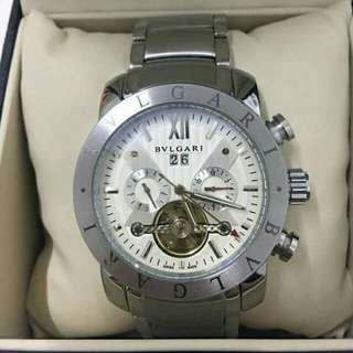Authentic/pawnable BVLGARI automatic