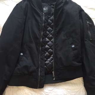 All about Eve black bomber jacket- Size 8