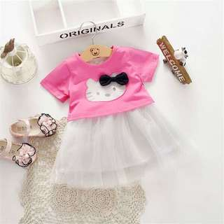 DRESS HELLO KITTY BABY