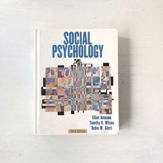 Social Psychology Third 3rd Edition