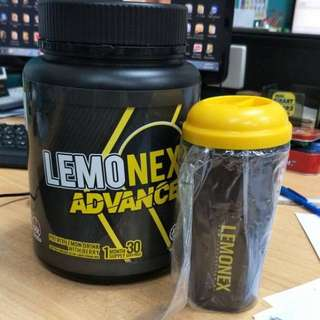<left 3 bots> 100% authentic Lemonex Advance FREE SHAKER