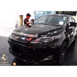 super-hydrophobic 9H car coating at only $220 NETT !!!!!!!!!!!!!!! 2 years warranty included !   (small sedan onwards)
