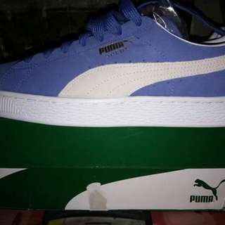 For Sale: Pume Suede (blue)
