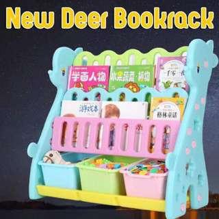 DEER BOOK RACK