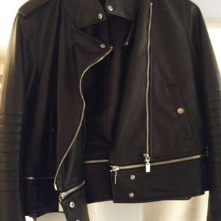 Zara Women's Biker Jacket.