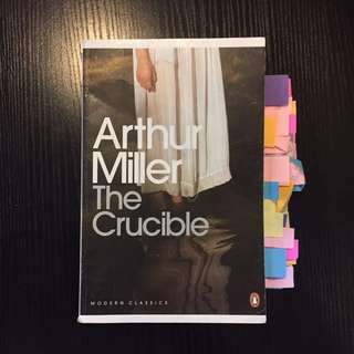 The Crucible - Arthur Miller VCE text