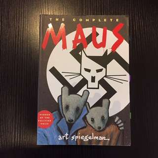 Maus - Art Spiegelman VCE text