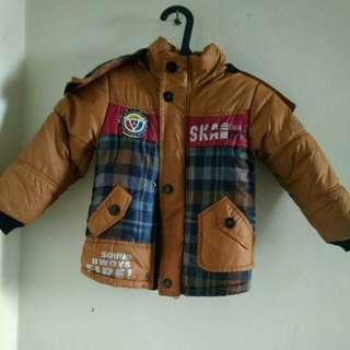 Jaket import tebel anak sz XL untuk usia 4 -6 thn tergantung anak detail ad di pic