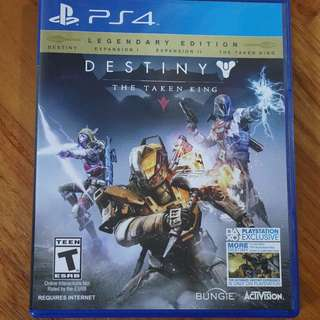 Destiny : The Taken King Playstation 4 (ps4) US ntsc