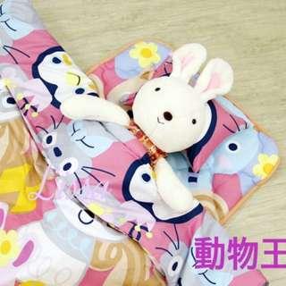 🚚 兒童睡墊組 睡墊三件組 幼稚園睡墊組 睡墊 涼被 枕頭 現貨 MIT台灣製造