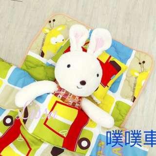 🚚 兒童睡墊組 安親班袋組 睡袋三件組 睡墊 涼被 枕頭 現在 MIT 台灣製