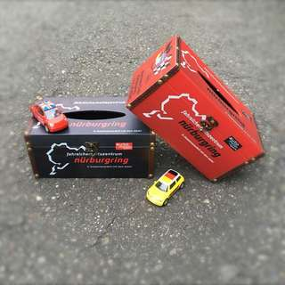 🚚 紐伯林賽道限量版面紙盒 復古風木質面紙盒 復古工業風面紙盒