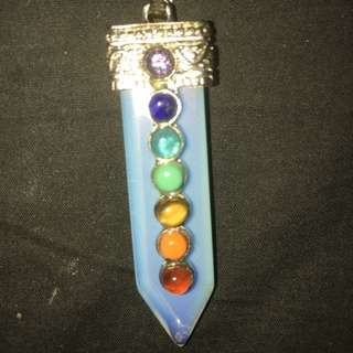 Opalite Chakra Necklace