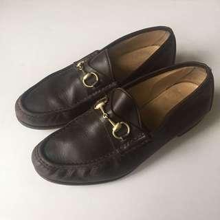 Vintage authentic men's Gucci loafers 43.5