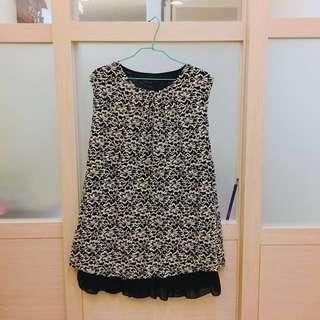 黑白短洋裝 #洋裝特賣