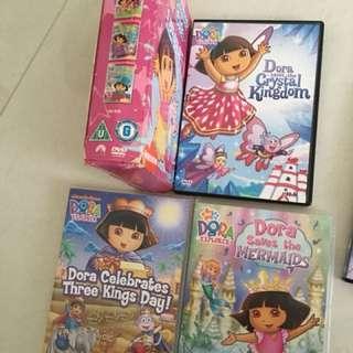 14 Pcs Dora Dvd