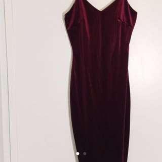 LOWERED PRICE: Shop M Boutique Velvet Dress